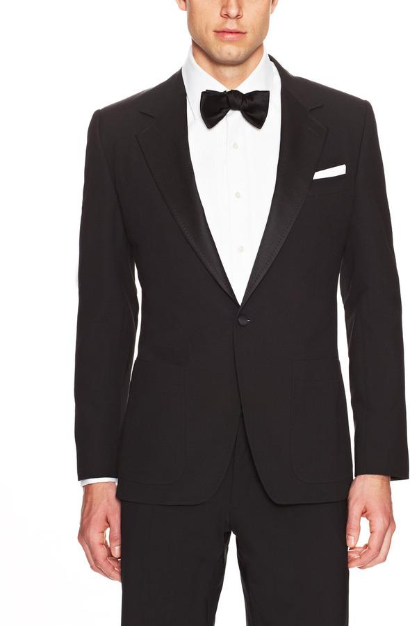 new arrive new cheap new collection $699, Dolce & Gabbana Textured Lapel Tuxedo Jacket