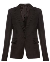 Maison Margiela Shantung Silk Tailored Blazer