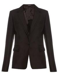 Maison Margiela Shantung Silk Tailored Blazer