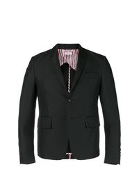 Thom Browne Silk Lapel High Armhole Sport Coat