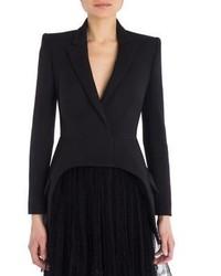 Alexander McQueen Wool Silk Blazer