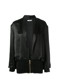Lanvin Silk Bomber Jacket