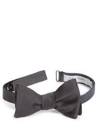 John W Nordstrom Dot Silk Bow Tie