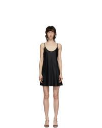 La Perla Black Silk Slip Dress