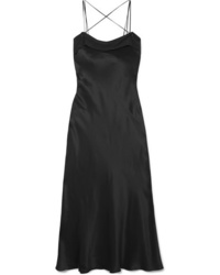 Maison Margiela Silk Satin Midi Dress