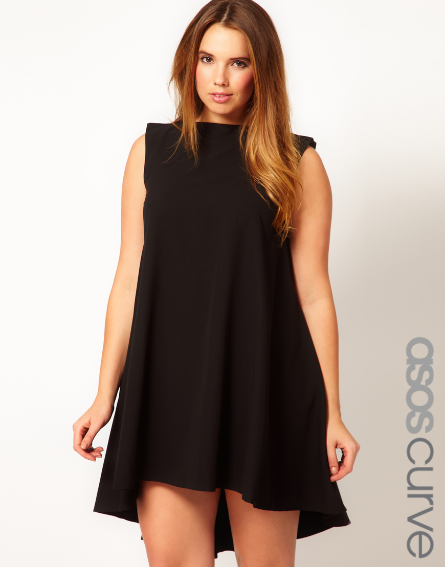 asos curve swing dress where to buy how to wear. Black Bedroom Furniture Sets. Home Design Ideas