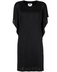 MM6 MAISON MARGIELA Sheer Detail T Shirt Dress