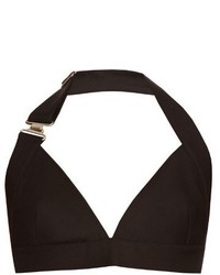 Acne Studios Suki Wo Si Wool And Silk Blend Bra Top