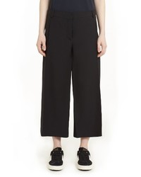 Valentino Crepe Couture Wool Silk Culottes
