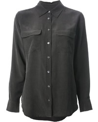 Equipment silk shirt medium 323875