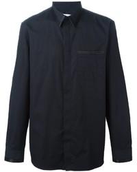 Givenchy trim detail classic shirt medium 829674