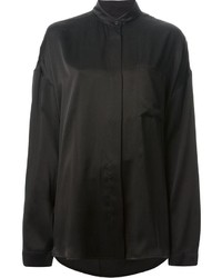 Haider Ackermann Band Collar Shirt
