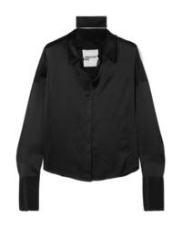 Orseund Iris Silk Charmeuse Shirt