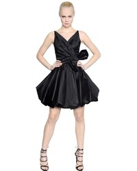 Dsquared2 Silk Taffeta Dress With Bow