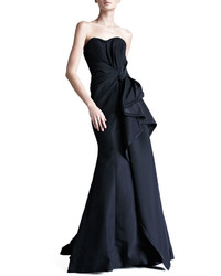Faille strapless gown medium 370145