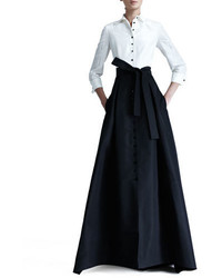 Shirtwaist taffeta ball gown medium 3749995