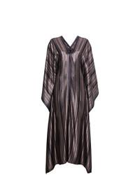 Silk kaftan maxi dress medium 7341608