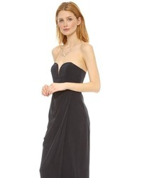 Zimmermann black silk dress