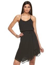 JLO by Jennifer Lopez Jennifer Lopez Asymmetrical Fit Flare Dress