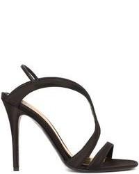 Alexander McQueen Silk Satin Evening Sandal