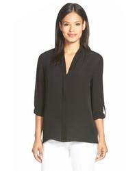 Anabella v neck silk blouse medium 814151