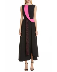 Roksanda Asymmetrical Silk Tte Dress