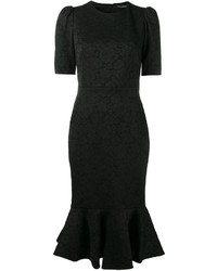 Dolce & Gabbana Fishtail Midi Dress