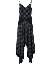 Diane von Furstenberg Scarf Hem Midi Dress