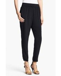 3.1 Phillip Lim Silk Track Pants Black Size 0 0