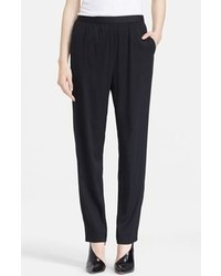 Alexander Wang T By Silk Twill Pants