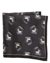 Z Zegna Pentagon Pocket Square