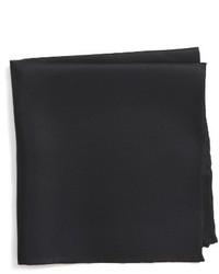Nordstrom Shop Solid Silk Pocket Square