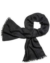 Tory Burch Allover T Jacquard Scarf
