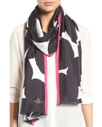 Kate Spade New York Blot Dot Silk Scarf