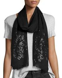 Tolani Sequined Silk Scarf