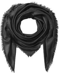 Etro Silk Blend Scarf With Wool