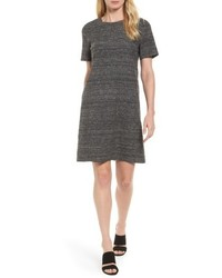 Silk linen shift dress medium 5034932