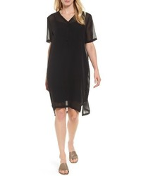 Silk v neck shift dress medium 4154530