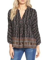 Madewell Boheme Silk Popover Shirt