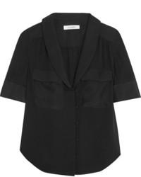 Frame Silk Shirt Black