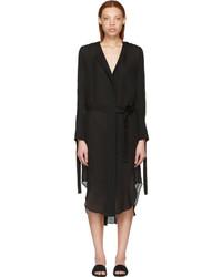 Calvin Klein Collection Black Leryn Shirt Dress