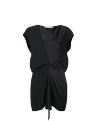 Marni Draped Peplum Blouse