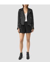 AllSaints Kaplan Silk Shorts