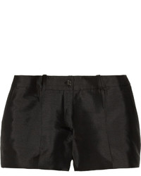 Michael Kors Michl Kors Collection Silk And Wool Blend Shantung Shorts