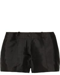 Michael Kors Michl Kors Collection Silk And Wool Blend Shantung Shorts