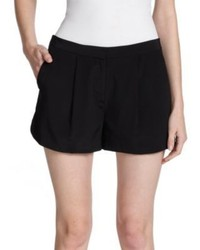 Vince Silk Pleated Shorts