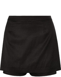 Alexander Wang T By Layered Stretch Silk Shorts