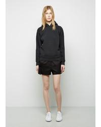 Alexander Wang T By Silk Twill Ripstop Shorts