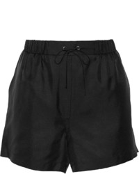 Alexander Wang T By Silk Twill Shorts