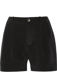 Totme Nairobi Silk Crepe De Chine Shorts